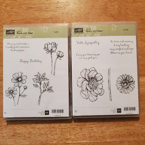 Stampin' Up! Set of 2 - Bloom with Hope Stamp Sets
